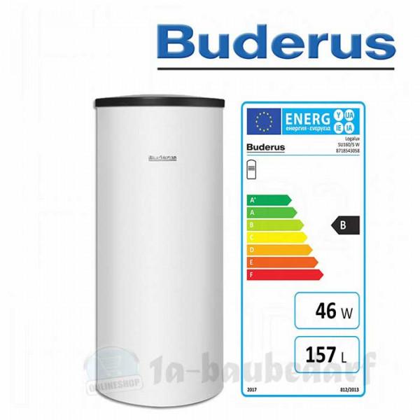 Warmwasserspeicher Buderus Logalux SNB 160 weiß