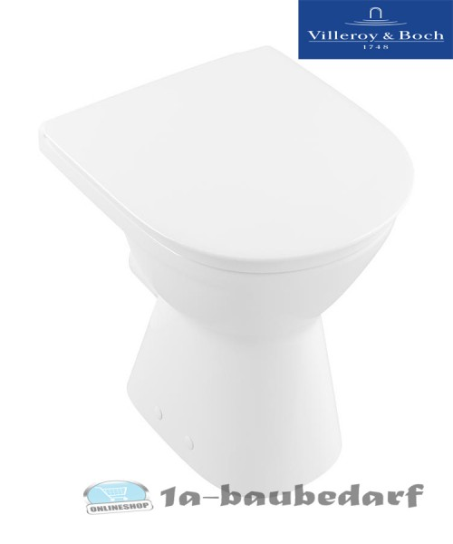Flachspül Stand WC aus Keramik O. Novo Vita Villeroy & Boch inkl. Befestigung