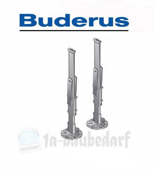 FW Standfix-Standkonsolen-Satz 870- BUD mit 2 Standrohren SSPK-N 870-BUD Buderus