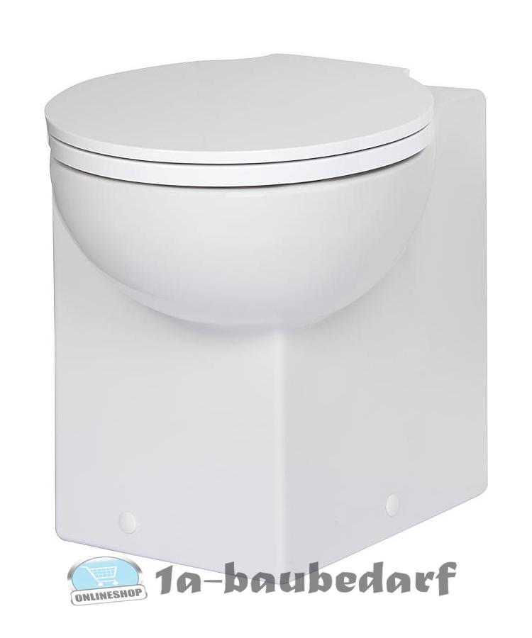 eck wc stand tiefsp l toilette aus keramik inkl befestigung ihr profishop f r ihren baubedarf. Black Bedroom Furniture Sets. Home Design Ideas