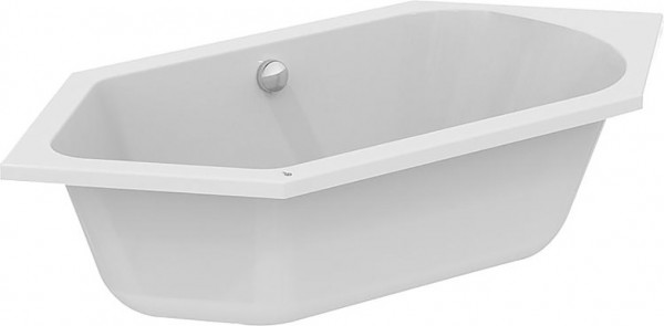 Sechseck-Badewanne ESTON BxHxT: 1900x465x900mm Inhalt: 260l Acryl