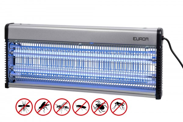 Insektenvernichter Eurom Fly Away Metall 40 LED bis 200 m²