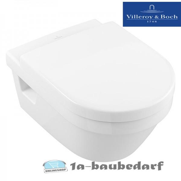 "Tiefspül Wand WC aus Keramik Combi-Pack ""Architectura"" + WC-Sitz Villeroy&Boch"