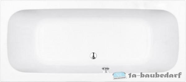 Duo-Badewanne EDEM aus Acryl 240 L BxHxT:1800x435x800mm
