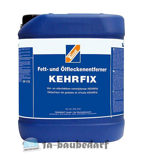 Technolit KEHRFIX 5L Fettentferner Ölfleckenentferner Fettlöser Ölreiniger
