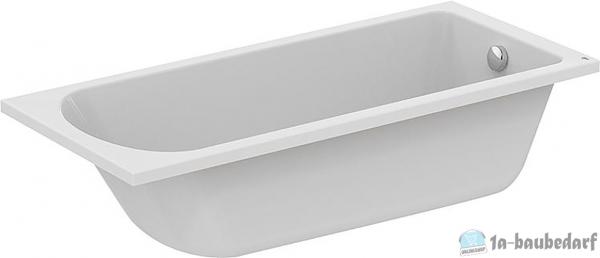 Körperform-Badewanne EMIL BxTxH:1700x800x465mm,Inhalt:285l Acryl,weiß