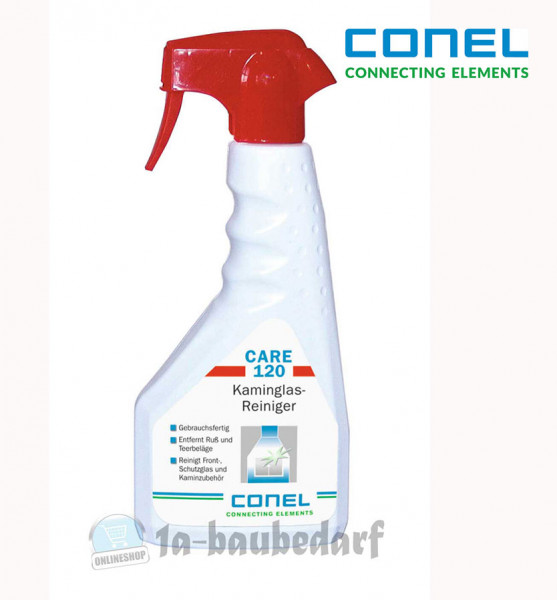 Restposten Conel Care 120 Kaminglasreiniger 500ml Handsprayflasche