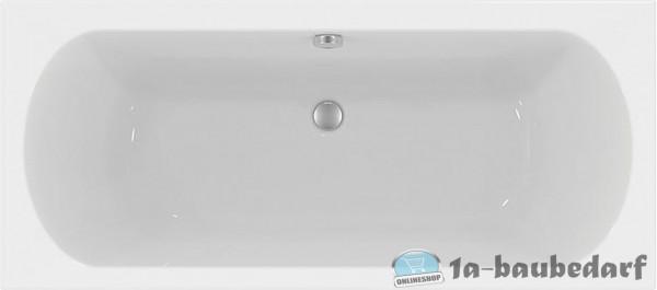 Duo-Badewanne EROK aus Acryl 265 L BxHxT:1800x465x800mm