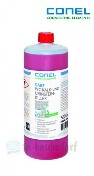 Conel Care WC-Kalk-/Urinsteinkiller Kalkentferner 1Ltr. Flasche Konzentrat
