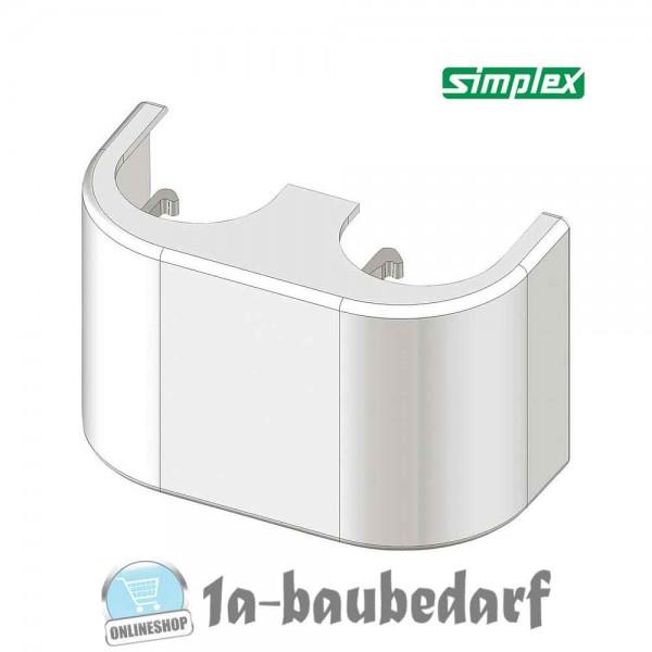Design-Verkleidung weiß für Zweirohr-HB DG