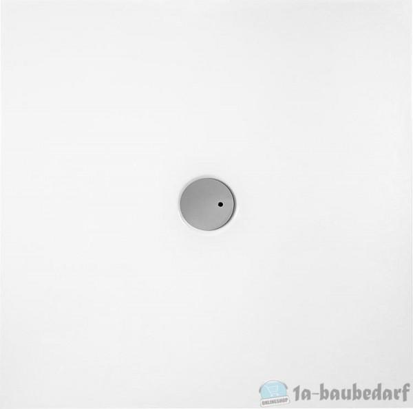 Duschwanne Evje Quadrat 1000x35x1000mmAcryl, weiß